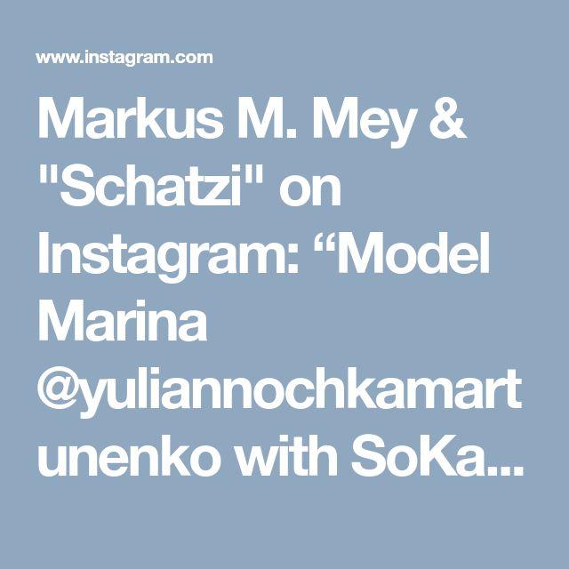 "Markus M. Mey & ""Schatzi"" on Instagram: ""Model Marina @yuliannochkamartunenko with SoKate nude 120 mm dangling ;-) #sokate #louboutinsokate #highheels #jeans #crushing #femaleboss…"" • Instagram"