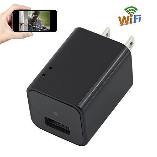 Camera Charger WIFI 1080P HD TANGMI Wireless Mini Cam Wall Plug Adapter Motion Detection Surveillance Camcorder support iPhone… #deals