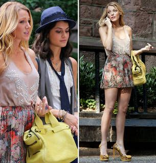 Gossip Girl Season 6: Serena Spotted With The New Girl — and She's a Troublemaker! (PHOTOS)