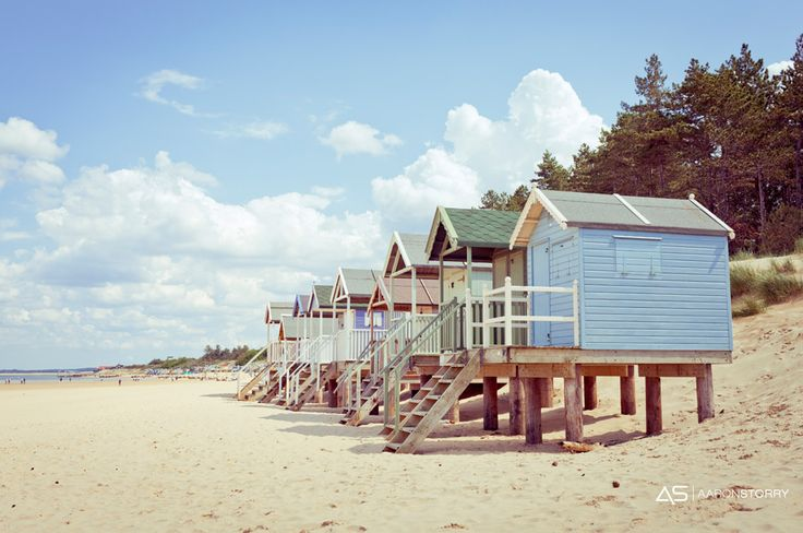 Is there anything more British than a  beautiful summer beach hut?