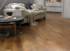 PVC-vloer Optima - PVC vloeren met een klassiek hout dessin zonder v-groef