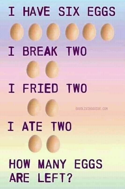 I have Six Eggs Puzzle #brainteasers #Puzzle #puzzles ...