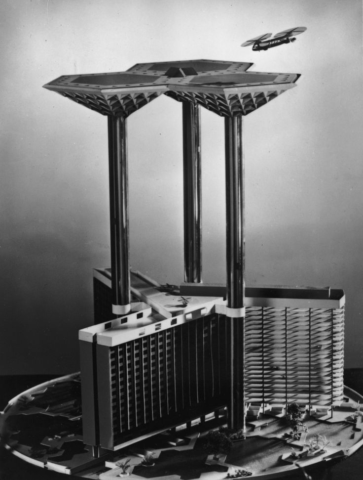 Airport of the future (1957)