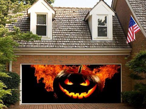 4 Halloween Garage Door Decoration Ideas | Halloween ...