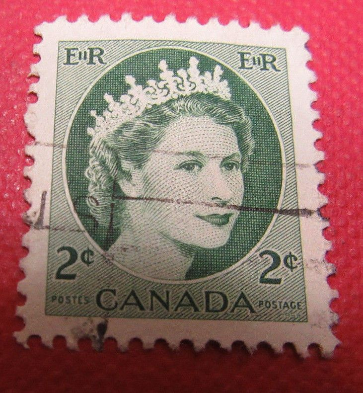 Old Used Stamps Canada
