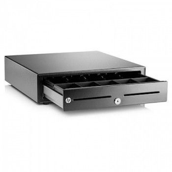 HP's Standard Duty Cash Drawer provides excellent performance and reliability to meet the needs of today's retailers. Durable steel construction, compact footprint and dual media slots make this a great solution for retail and hospitality environments where a quality cash drawer solution is desired at a competitive price.