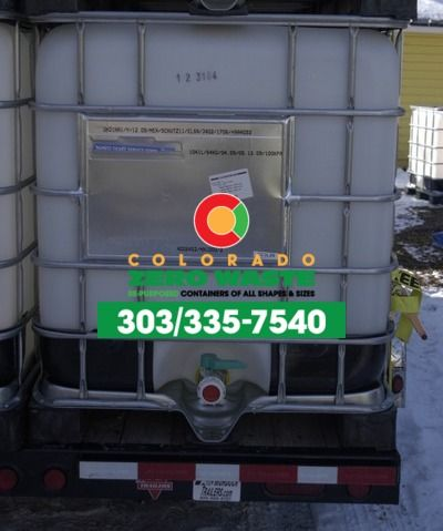 Food Grade - 275 Gallon IBC Tote - 1000 liter IBC Tote UN Rated  Colorado Zero Waste in Longmont, CO