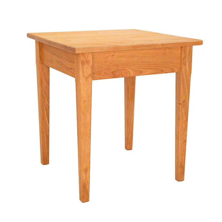 Vermont Made Shaker End Table Clean Simple Lines Make Up This Traditional Piece Living Room