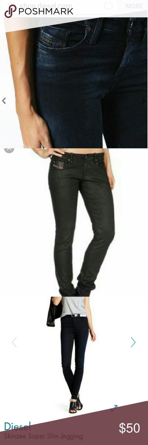 Diesel skinzee jeans Jegging legging jeans, sz 25/32. Stretch, but True to sz, regular waist. Diesel Jeans Skinny