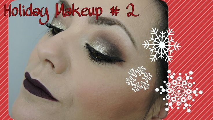 Holiday Makeup # 2 : palette Gwen Stefani + UD liner