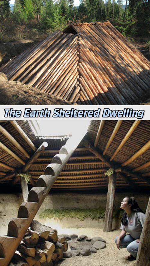 The earth sheltered dwelling survival preppers for Earth shelter