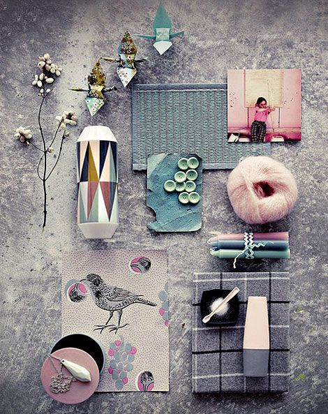 79ideas-grey-and-soft-colors | Busy Being Fabulous by Deb McLean