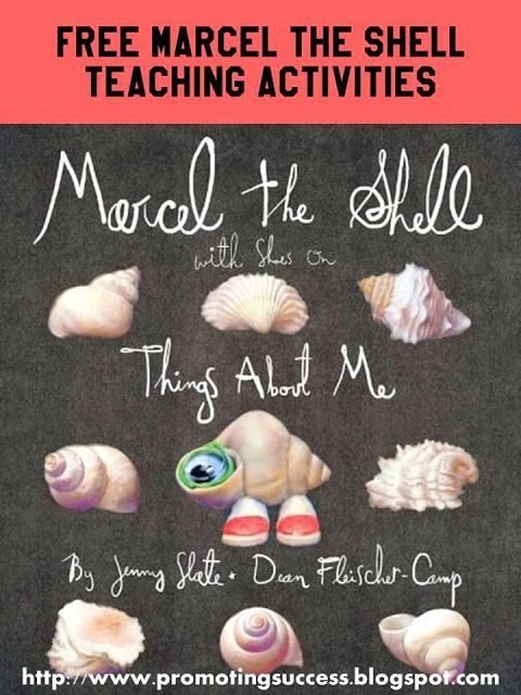 Marcel the Shell Book and Activities for Kids