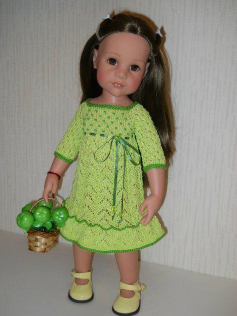 Платья для кукол Gotz 50см ростом / Одежда для кукол / Шопик. Продать купить куклу / Бэйбики. Куклы фото. Одежда для кукол