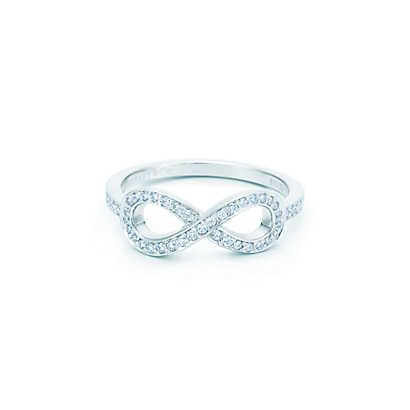 Tiffany Infinity Ring - with diamonds this time. I just died and went to heaven.