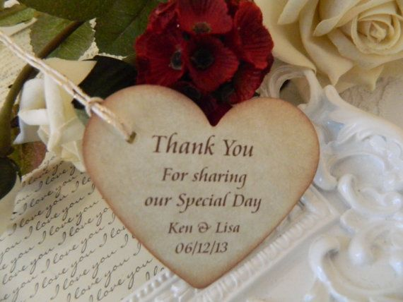 Wedding Favor Tags Pinterest : Tags Gift Tags Wedding by Sophiasplace, USD34.50 crafts Pinterest ...