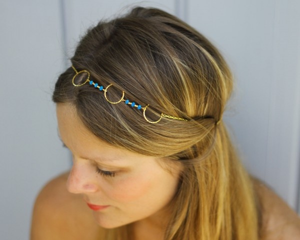 bijou de tête Calopsitte #cheveux #headband #coiffure