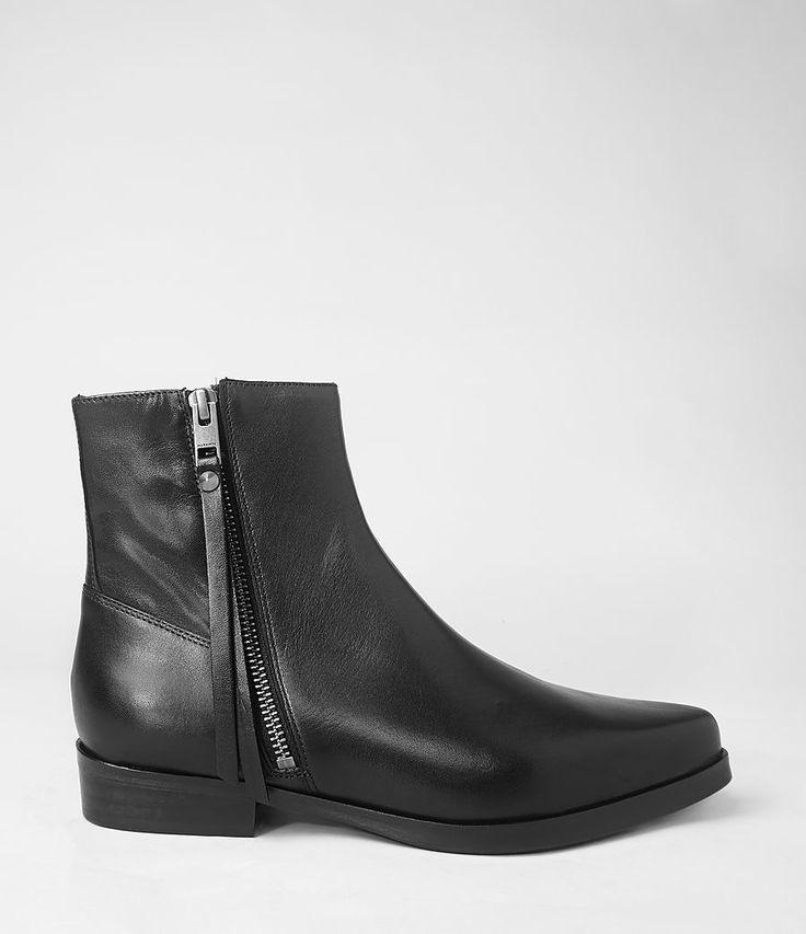 Womens Keiko Boot (Black) | ALLSAINTS.com