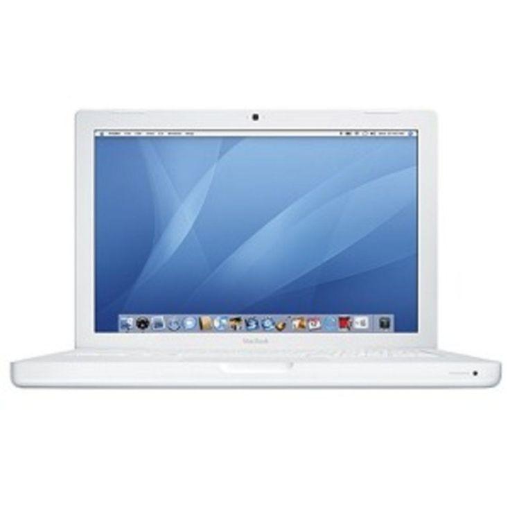 Apple MacBook Core 2 Duo T7300 2.0GHz 1GB 80GB CDRW/DVD 13.3 AirPort OS X w/Webc #Apple