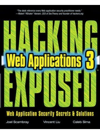 Hacking Exposed Web Applications, 3rd Edition pdf free download