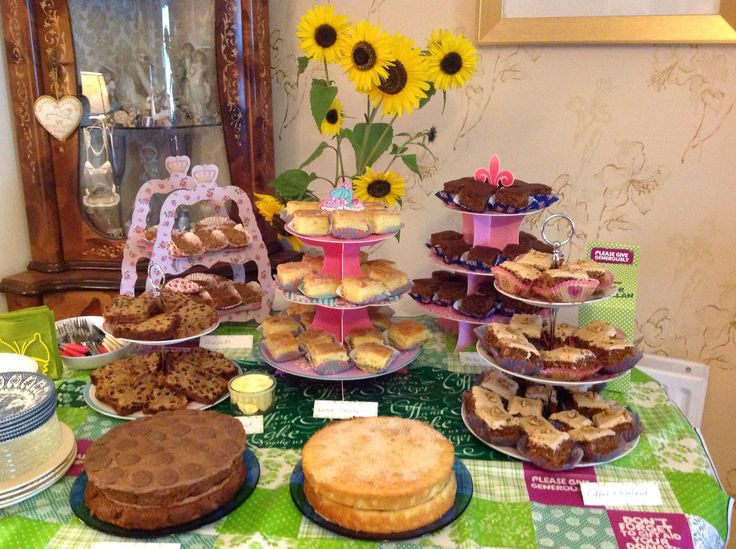 Macmillan Coffee Morning 2014, I raised £280