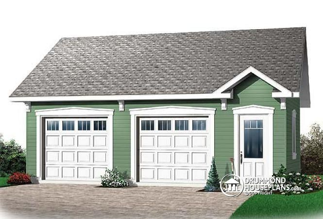 House plan w2993 by angela for Playhouse with garage plans