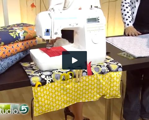 Free pattern sewing machine mat & caddy/seeing machine be cover