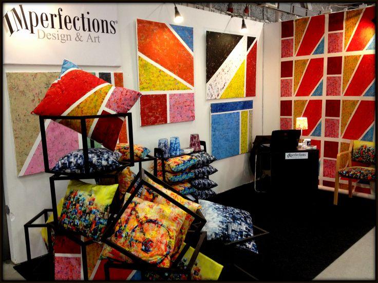 Cushions, fabrics, lamps and original paintings by Paula Rindborg.