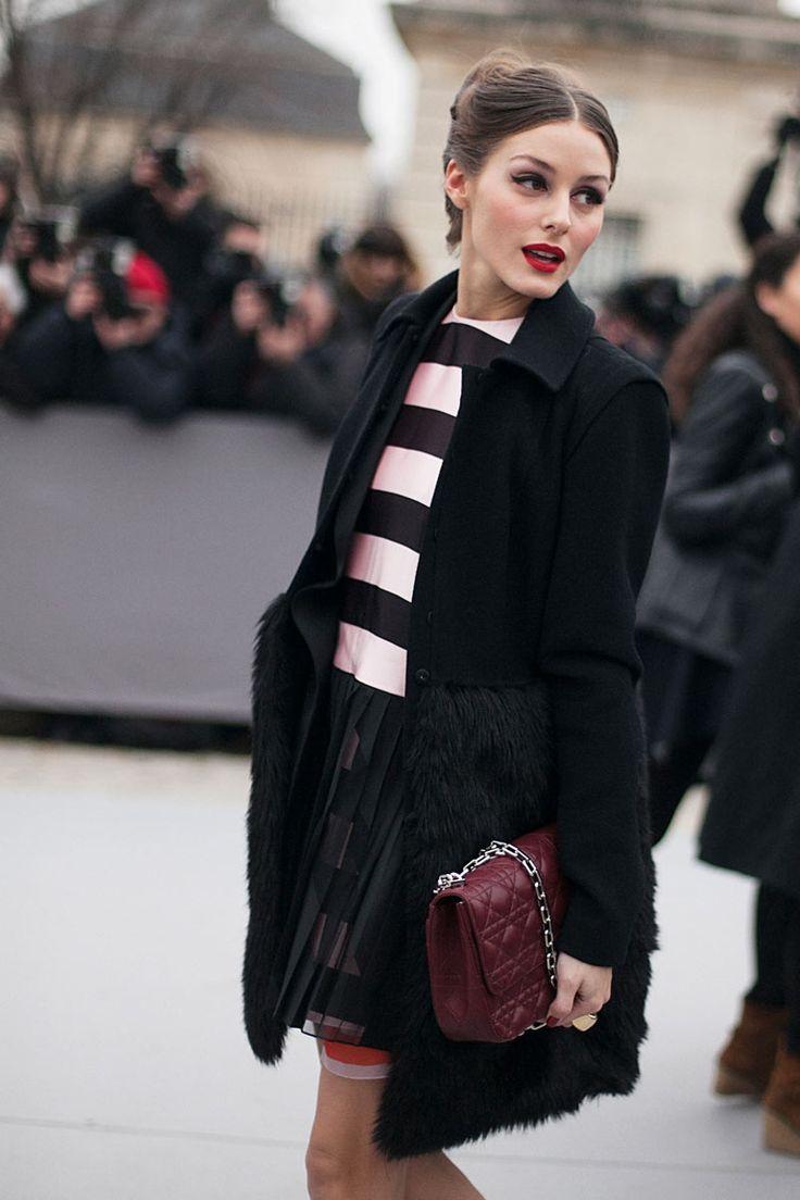 Fotos de street style en Paris Fashion Week: Olivia Palermo de Christian Dior   Galería de fotos 222 de 322   Vogue