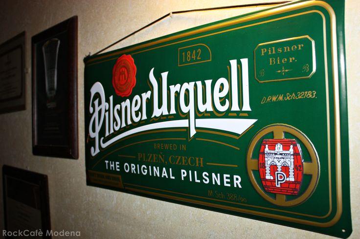 Pilsner Urquell: vieni a scoprire la prima birra dorata al mondo!! #birra #PilsnerUrquell #modena #rockcafè