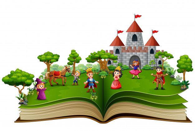 Livro De Histórias Com Desenhos Animados Da História Real Cuentos Con Dibujos Libros De Cuentos Imagen De Estudiante