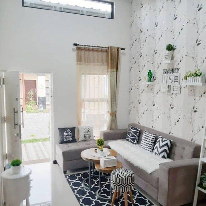 Desain Ruang Tamu Minimalis Ukuran 3x3 Modern Simpel Dengan Desain Interior Terbaru Dan Terpopuler Saat Ini D Desain Interior Dekorasi Rumah Ruang Tamu Rumah