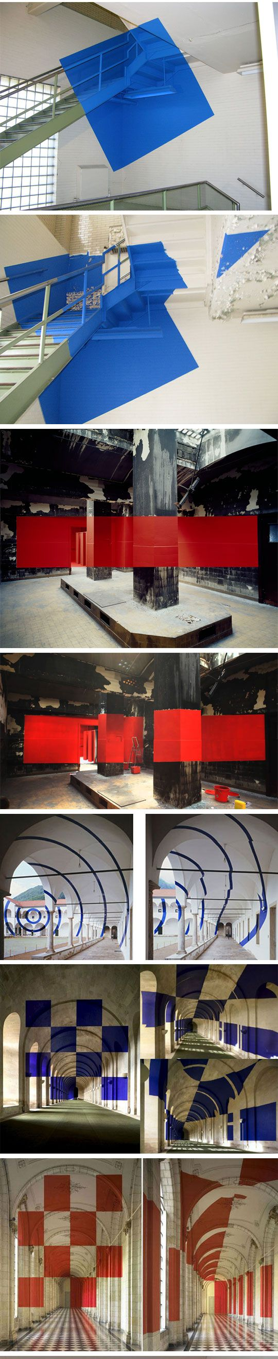 Incredible Art That Can Only Be Viewed From One Angle. By George Rousse