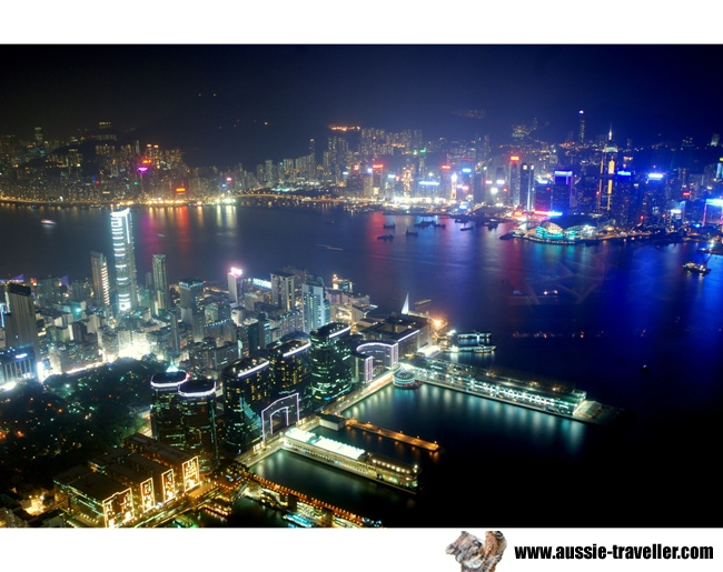 Hong Kong View - Ozone Bar - ICC