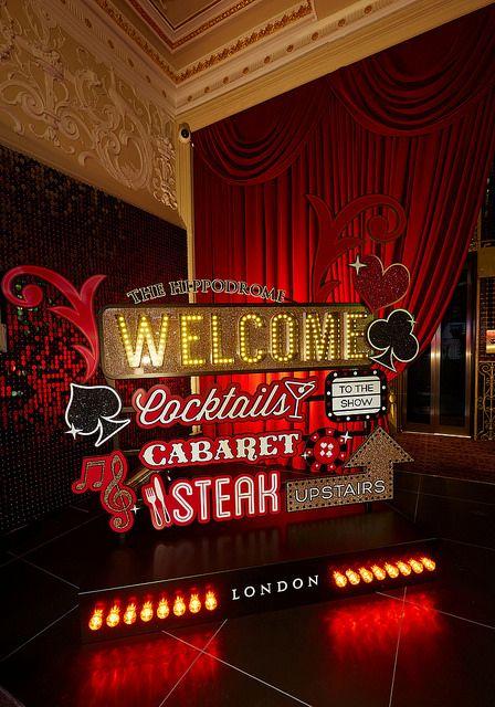 Planarama / Signage for The Hippodrome Casino, London.