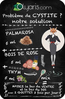 Venez à bout des cystites avec l'huile essentielle de palmarosa. En association, elle se révèle être très efficace !