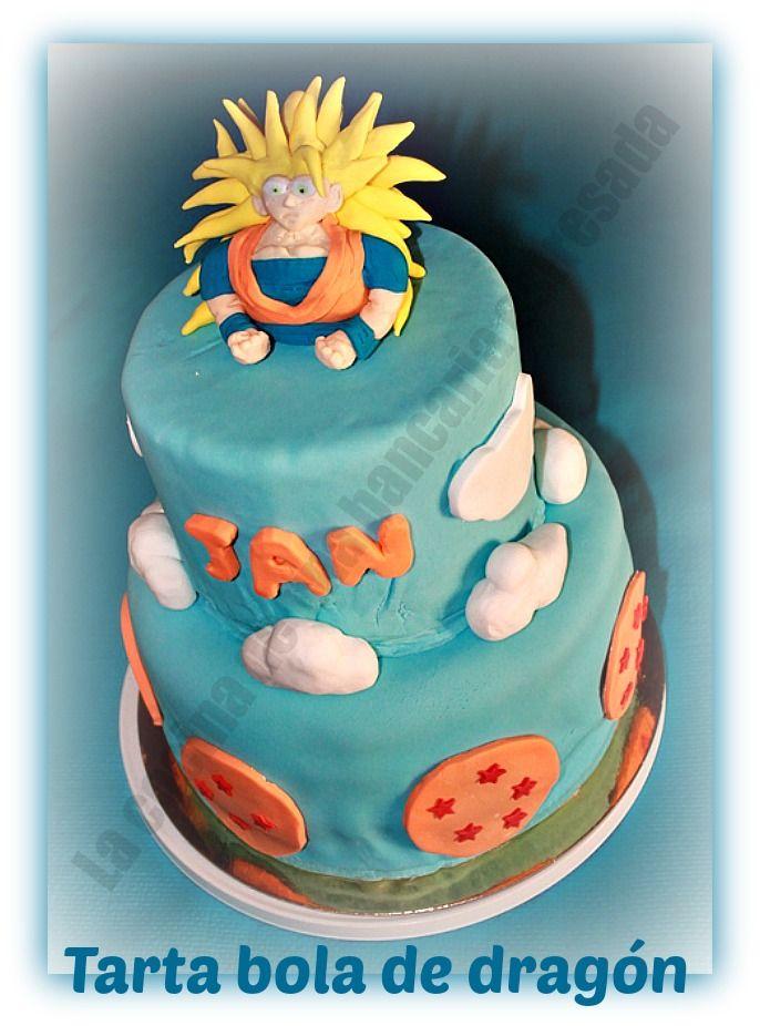 Dragon Ball Cake Tarta De Bola De Drag 211 N 1 Mi Blog La