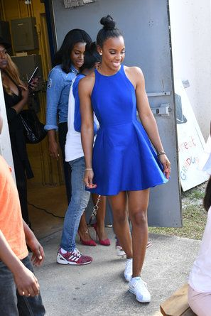 Kelly Rowland Kicks   - 14 Photos That Prove Kelly Rowland's Sneaker Game is Official