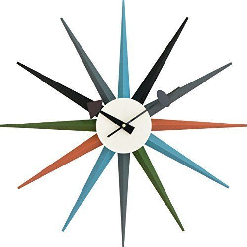 New! George Nelson Wall Clock Furniture Multi Color Japan F/S #GeorgeNelson