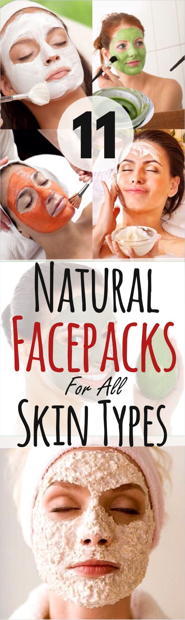 11 Natural Face Packs for all Skin Types – Face Masks for Clear Skin