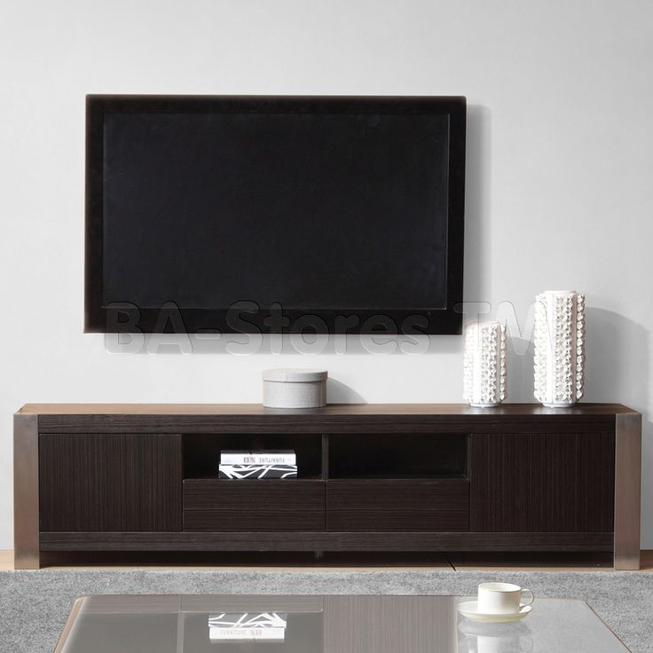 Composer TV Stand in Grey Ebony by B-Modern