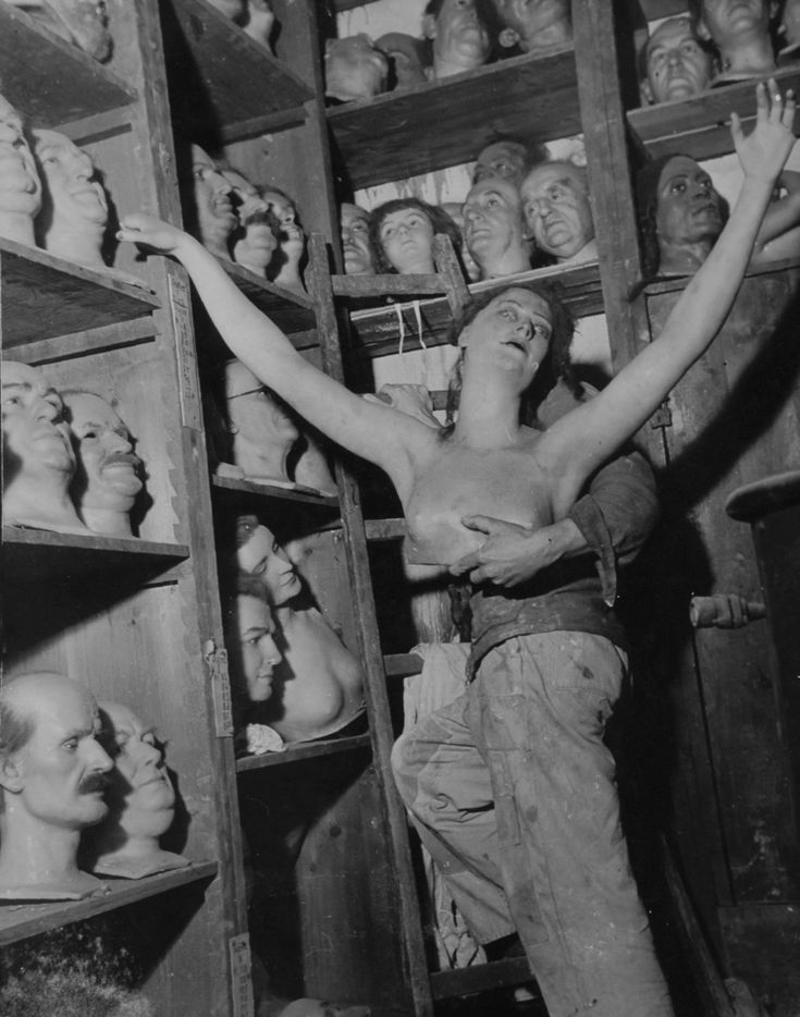 Willy Ronis - Mannequins, 1948.