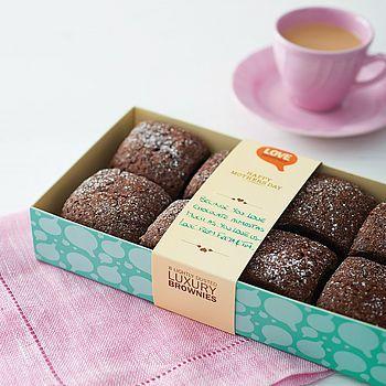 Box Of Eight Love Brownies