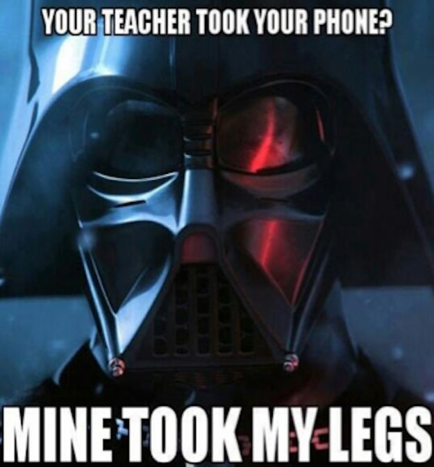 """Kids these days, amirite? 