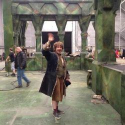 Lo Hobbit: ultime riprese con Bilbo, l'addio di Martin Freeman