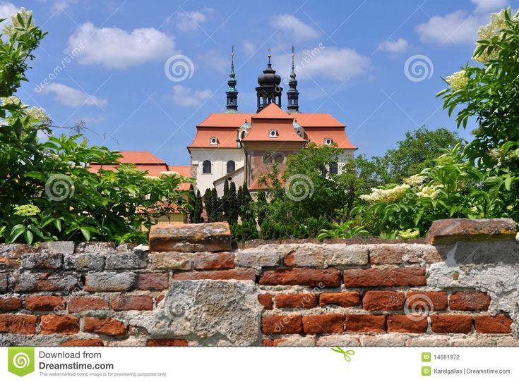 Velehrad Basilikakirche, Tschechisch Stockfotografie - Bild: 14691972