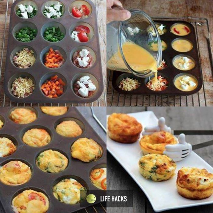 Delicious mini omelet everyone will love