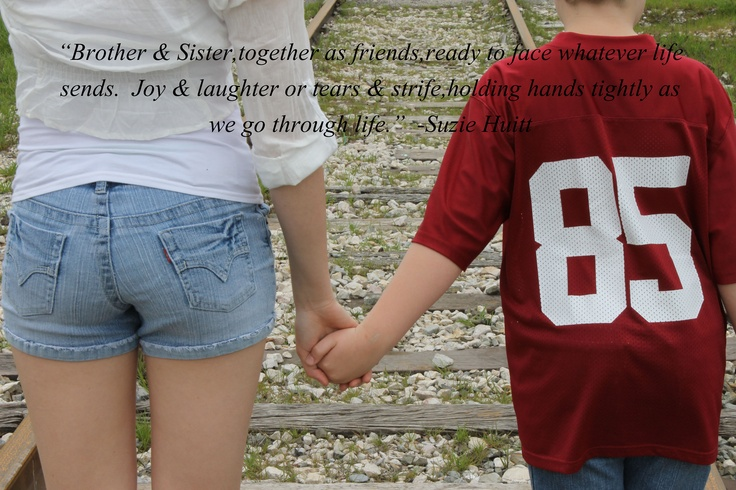 Brother and Sister Love   Fam{ily}   Pinterest