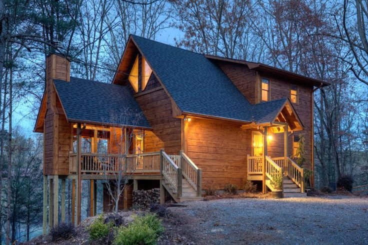 414 best New Cabins! images on Pinterest | Vacation ...