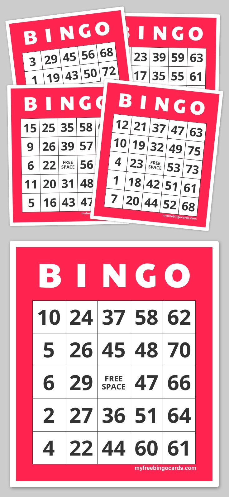 Make Your Own Bingo Cards Bing Images